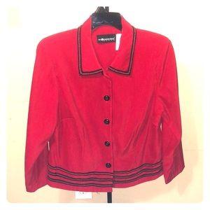 Sag Harbor Women's Red Blazer